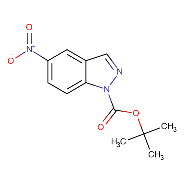 tert-Butyl 5-Nitro-1H-indazole-1-carboxylate