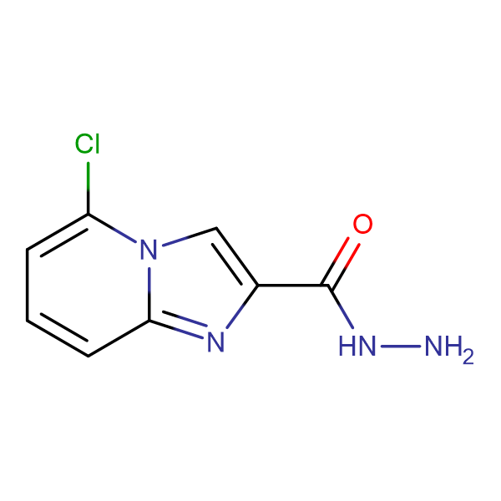 5-Chloroimidazo[1,2-a]pyridine-2-carbohydrazide