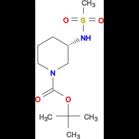 (S)-tert-Butyl 3-methanesulfonamidopiperidine-1-carboxylate