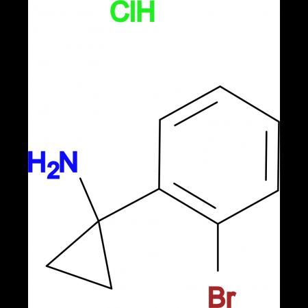 1-(2-Bromophenyl)cyclopropan-1-amine hydrochloride