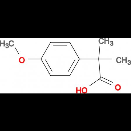 2-(4-Methoxyphenyl)-2-methylpropanoic acid