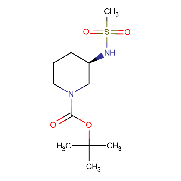 (R)-tert-Butyl 3-(methylsulfonamido)piperidine-1-carboxylate