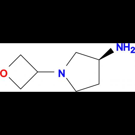 (3S)-1-(Oxetan-3-yl-pyrrolidin-3-amine