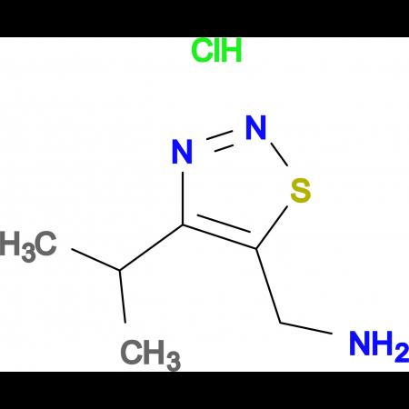 C-(4-Isopropyl-[1,2,3]thiadiazol-5-yl)-methylamine hydrochloride