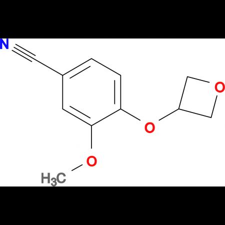 3-Methoxy-4-(oxetan-3-yloxy)-benzonitrile