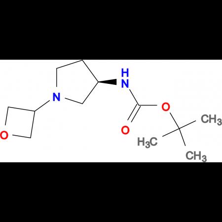 (R)-tert-Butyl 1(oxetan-3-yl)pyrrolidin-3-ylcarbamate