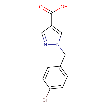 1-(4-Bromobenzyl)-1H-pyrazole-4-carboxylic acid