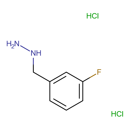 1-(3-Fluorobenzyl)hydrazine dihydrochloride