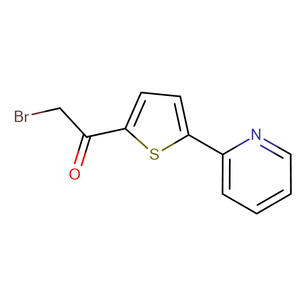 2-Bromo-1-(5-pyridin-2-yl-thiophen-2-yl)-ethanone