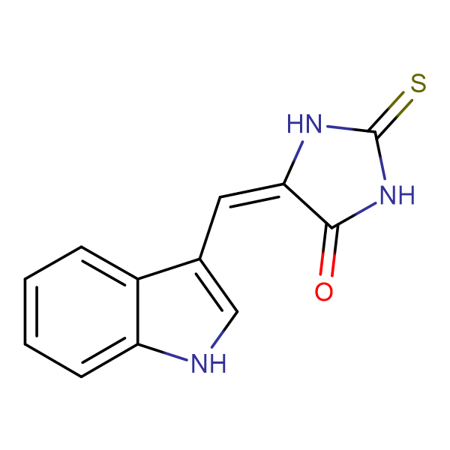 5-(Indol-3-ylmethylene)-2-thioxoimidazolidin-4-one