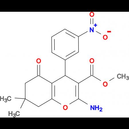Methyl 2-amino-7,7-dimethyl-4-(3-nitrophenyl)-5-oxo-4,6,7,8-tetrahydro2H-chromene-3-carboxylate