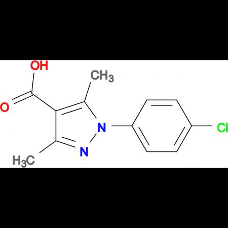1-(4-Chloro-phenyl)-3,5-dimethyl-1H-pyrazole-4-carboxylic acid