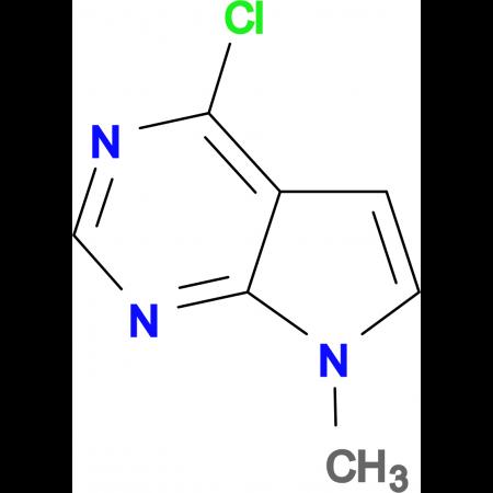 4-Chloro-7-methyl-7H-pyrrolo[2,3-d]pyrimidine