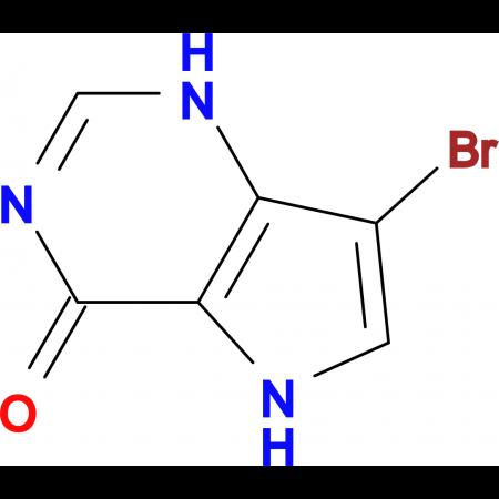 7-Bromo-1,5-dihydro-4H-pyrrolo[3,2-d]pyrimidin-4-one