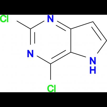 2,4-Dichloro-5H-pyrrolo[3,2-d]pyrimidine