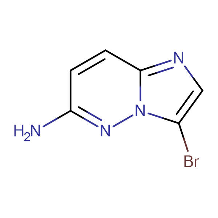 3-Bromoimidazo[1,2-b]pyridazin-6-ylamine