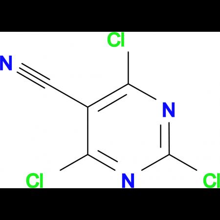 2,4,6-Trichloro-5-cyanopyrimidine