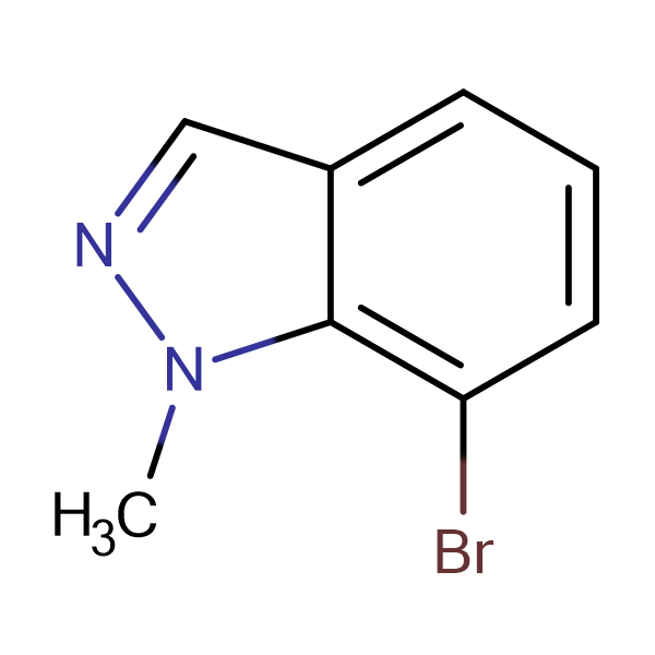 7-Bromo-1-methylindazole