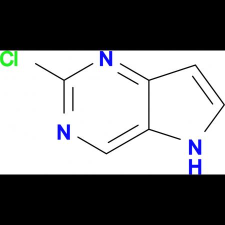 2-Chloro-5H-pyrrolo[3,2-d]pyrimidine