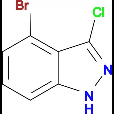 4-Bromo-3-chloro-1H-indazole
