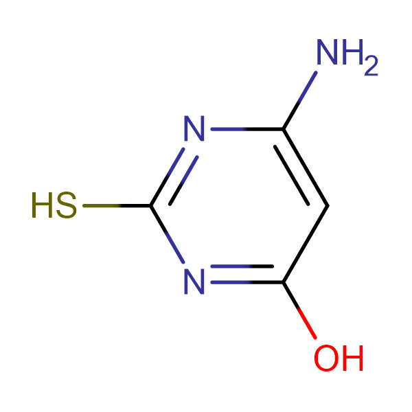 6-Amino-4-hydroxy-2-mercaptopyrimidine