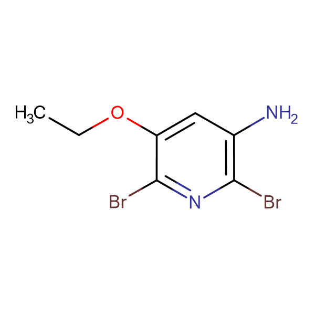 2,6-Dibromo-5-ethoxypyridin-3-ylamine