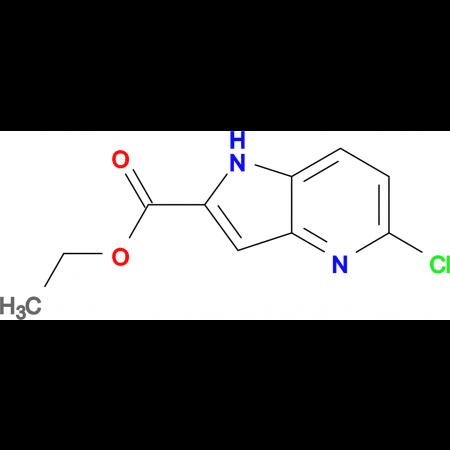 Ethyl 5-chloro-1H-pyrrolo[3,2-b]pyridine-2-carboxylate
