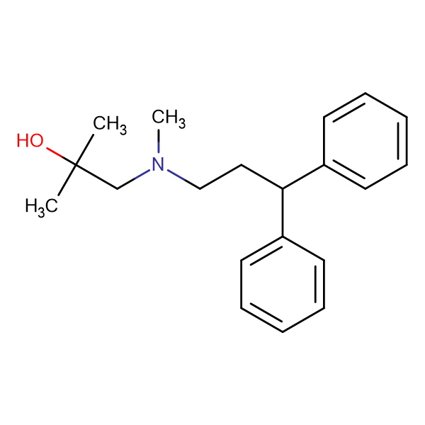 1-(3,3-Diphenyl-N-methylpropylamino)-2-methyl-2-propanol