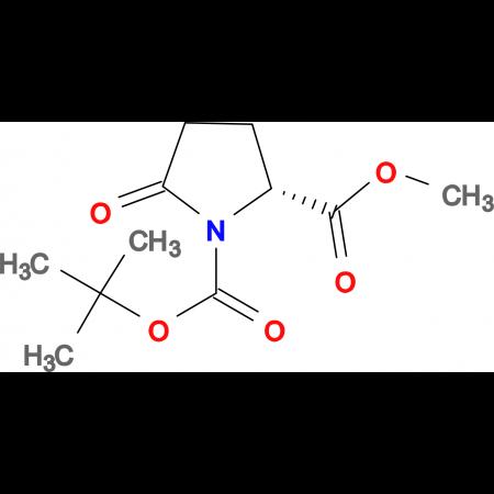 (R)-1-tert-Butyl 2-methyl 5-oxopyrrolidine-1,2-dicarboxylate