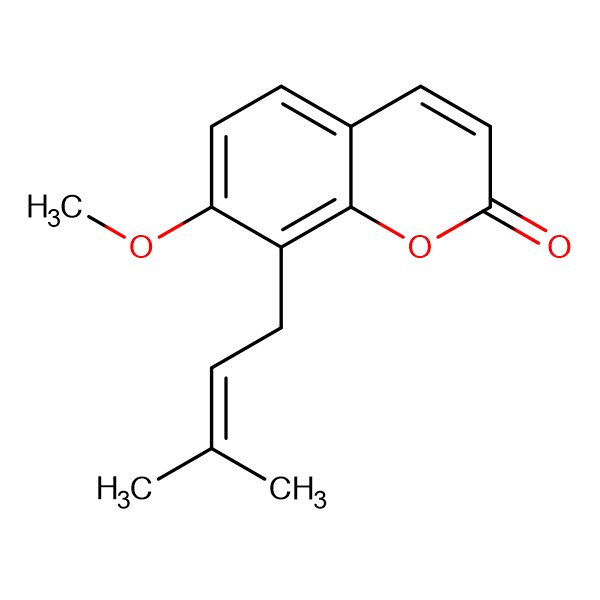 7-Methoxy-8-(3-methyl-2-buten-1-yl)-2H-chromen-2-one