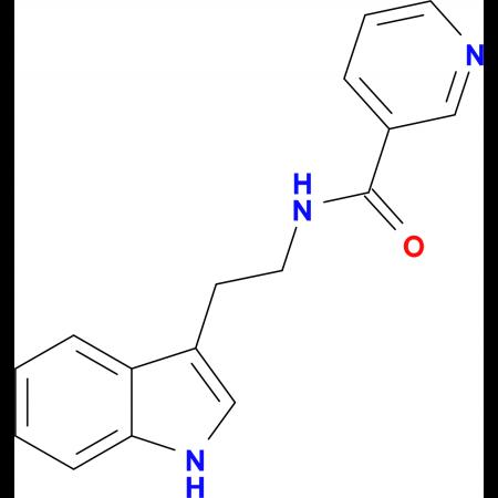 N-(2-(1H-Indol-3-yl)ethyl)nicotinamide