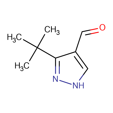 3-(tert-Butyl)-1H-pyrazole-4-carbaldehyde