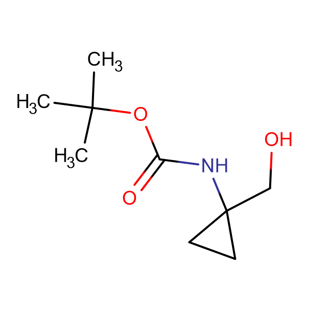 tert-Butyl (1-(hydroxymethyl)cyclopropyl)carbamate