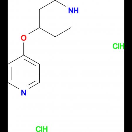 4-(Piperidin-4-yloxy)pyridine dihydrochloride