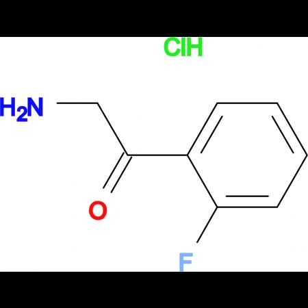 2-Amino-1-(2-fluorophenyl)ethanone hydrochloride