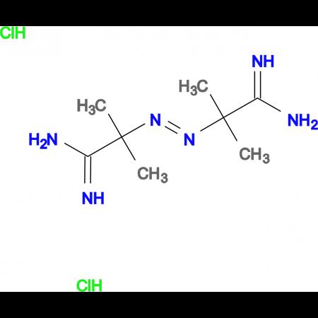 2,2'-(Diazene-1,2-diyl)bis(2-methylpropanimidamide) dihydrochloride
