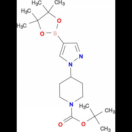 tert-Butyl 4-(4-(4,4,5,5-tetramethyl-1,3,2-dioxaborolan-2-yl)-1H-pyrazol-1-yl)piperidine-1-carboxylate