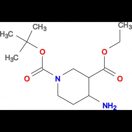 1-tert-Butyl 3-ethyl 4-aminopiperidine-1,3-dicarboxylate
