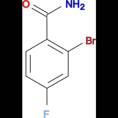 2-Bromo-4-fluorobenzamide