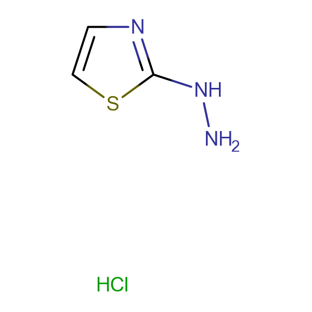 Thiazol-2-yl-hydrazine hydrochloride