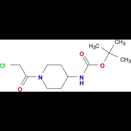 [1-(2-Chloro-acetyl)-piperidin-4-yl]-carbamic acid tert-butyl ester