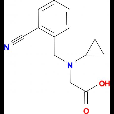 [(2-Cyano-benzyl)-cyclopropyl-amino]-acetic acid