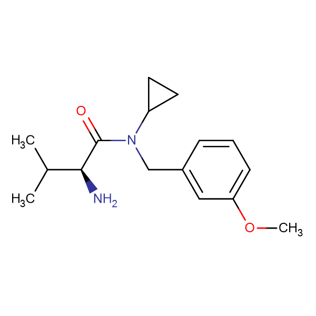 (S)-2-Amino-N-cyclopropyl-N-(3-methoxy-benzyl)-3-methyl-butyramide