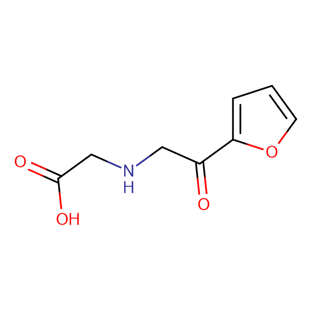 (2-Furan-2-yl-2-oxo-ethylamino)-acetic acid