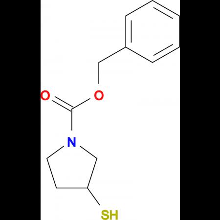 3-Mercapto-pyrrolidine-1-carboxylic acid benzyl ester