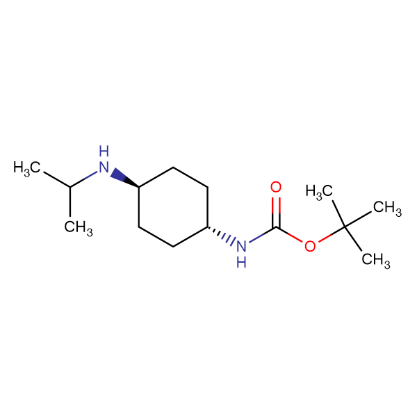 (1R,4R)-(4-Isopropylamino-cyclohexyl)-carbamic acid tert-butyl ester
