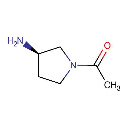 1-((R)-3-Amino-pyrrolidin-1-yl)-ethanone
