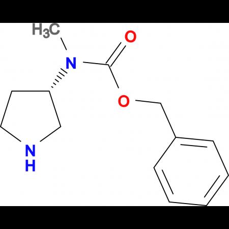 Methyl-(S)-pyrrolidin-3-yl-carbamic acid benzyl ester
