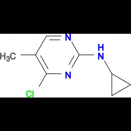 (4-Chloro-5-methyl-pyrimidin-2-yl)-cyclopropyl-amine