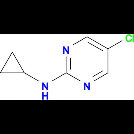 (5-Chloro-pyrimidin-2-yl)-cyclopropyl-amine